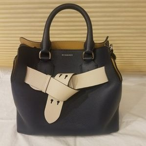 Newest Burberry Small Tricolor Belt Bag